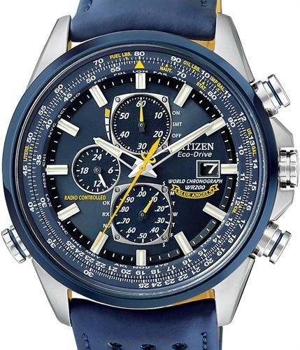 432d502982c Relógio Citizen At8020-03l At8030 Blue Angels Eco-drive - R  2.469 ...
