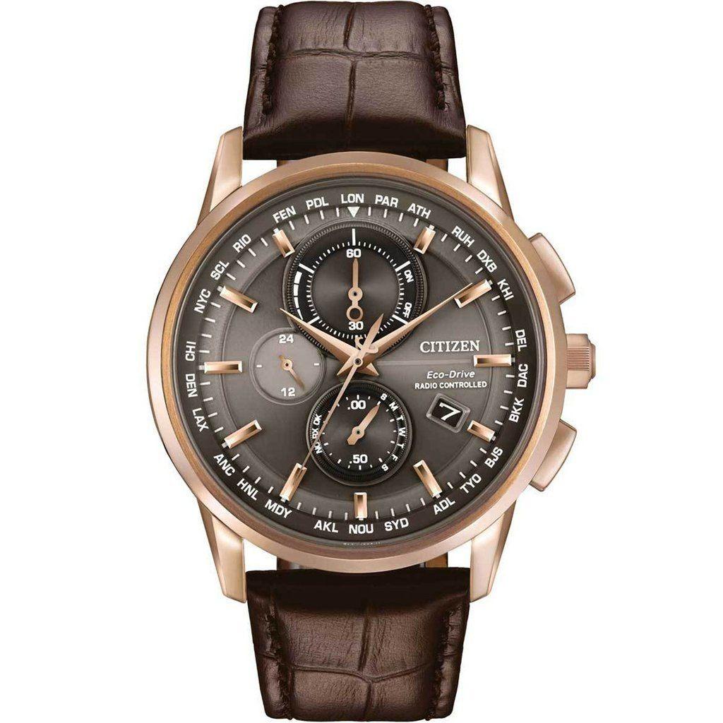 562ccbbee2f relógio citizen at8113-04h eco drive h mundial cronografo. Carregando zoom.