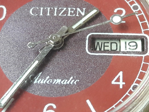 relógio citizen automático mostrador colorido leia descrição