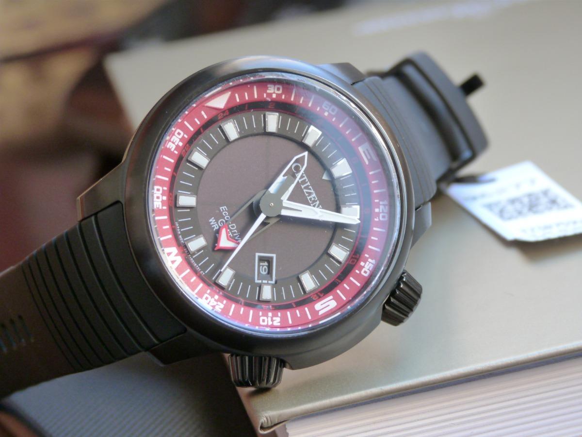 1bf12ea4d1d relógio citizen bj7085-09e tz30759v eco-drive esportivo gmt. Carregando  zoom.