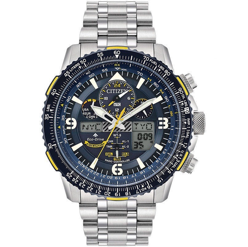 dabeac16fe0 relogio citizen blue angels skyhawk eco-drive atomic t keep. Carregando  zoom.