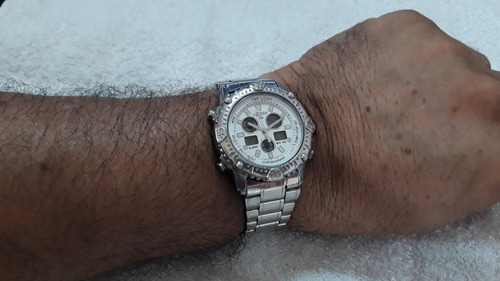 relógio citizen c 810 tap-light - lindo  !