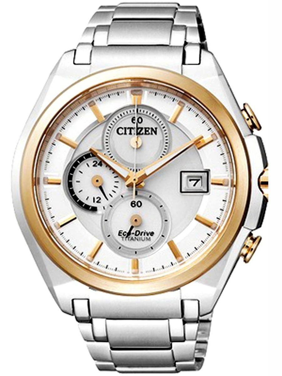 716f9403040 relógio citizen cronograph eco-drive tz30231s super titânio. Carregando zoom .