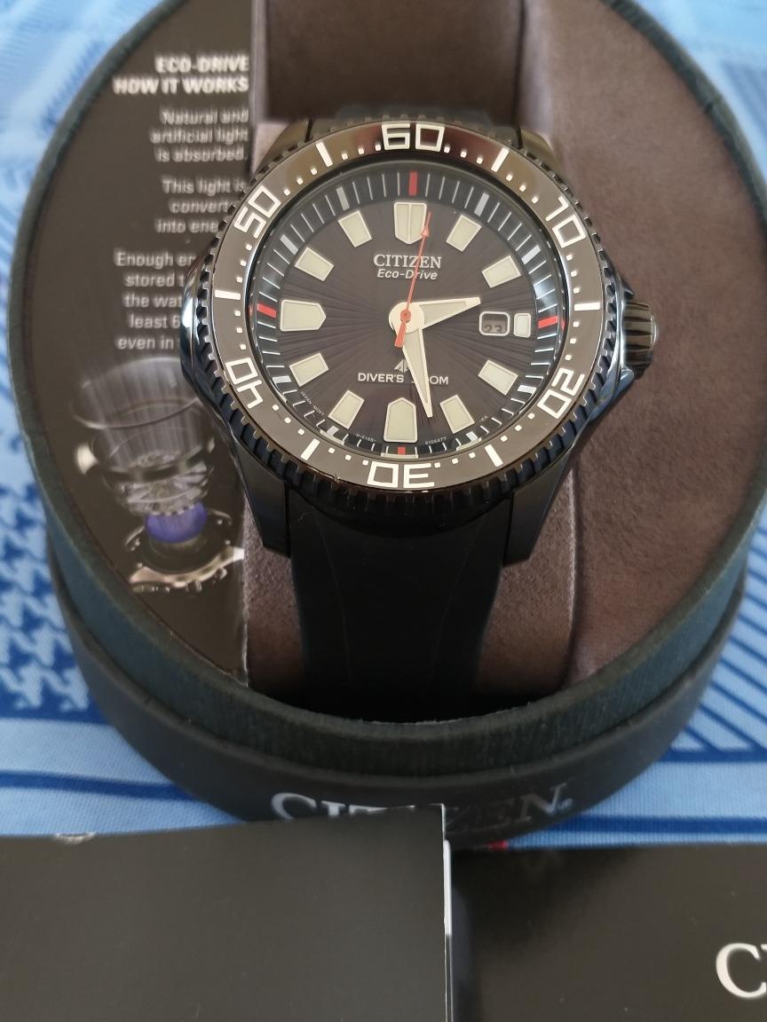 46721fc3d5f relógio citizen eco-drive aqualand impecável. Carregando zoom.