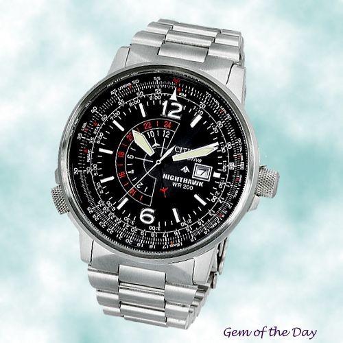 e5aba278c2d Relógio Citizen Eco-drive Bj7000-52e Nighthawk Frete Gratis - R ...