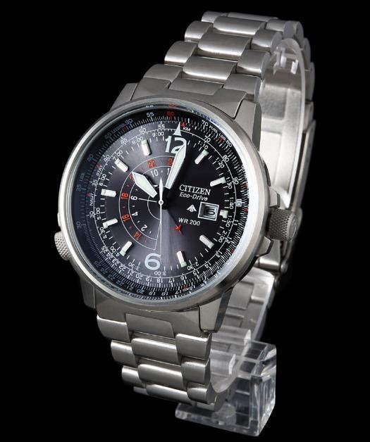 38b40a89374 Relógio Citizen Eco-drive Bj7010-59e Nighthawk Frete Gratis - R ...