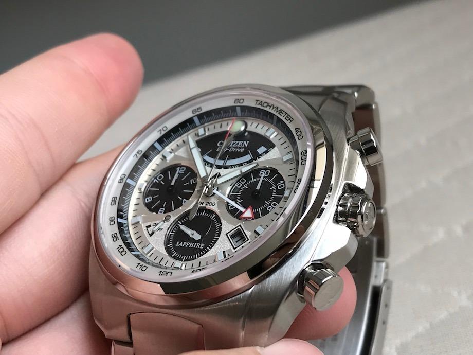 6e252609670 relógio citizen eco-drive calibre 2100 sapphire av0050-54a. Carregando zoom.