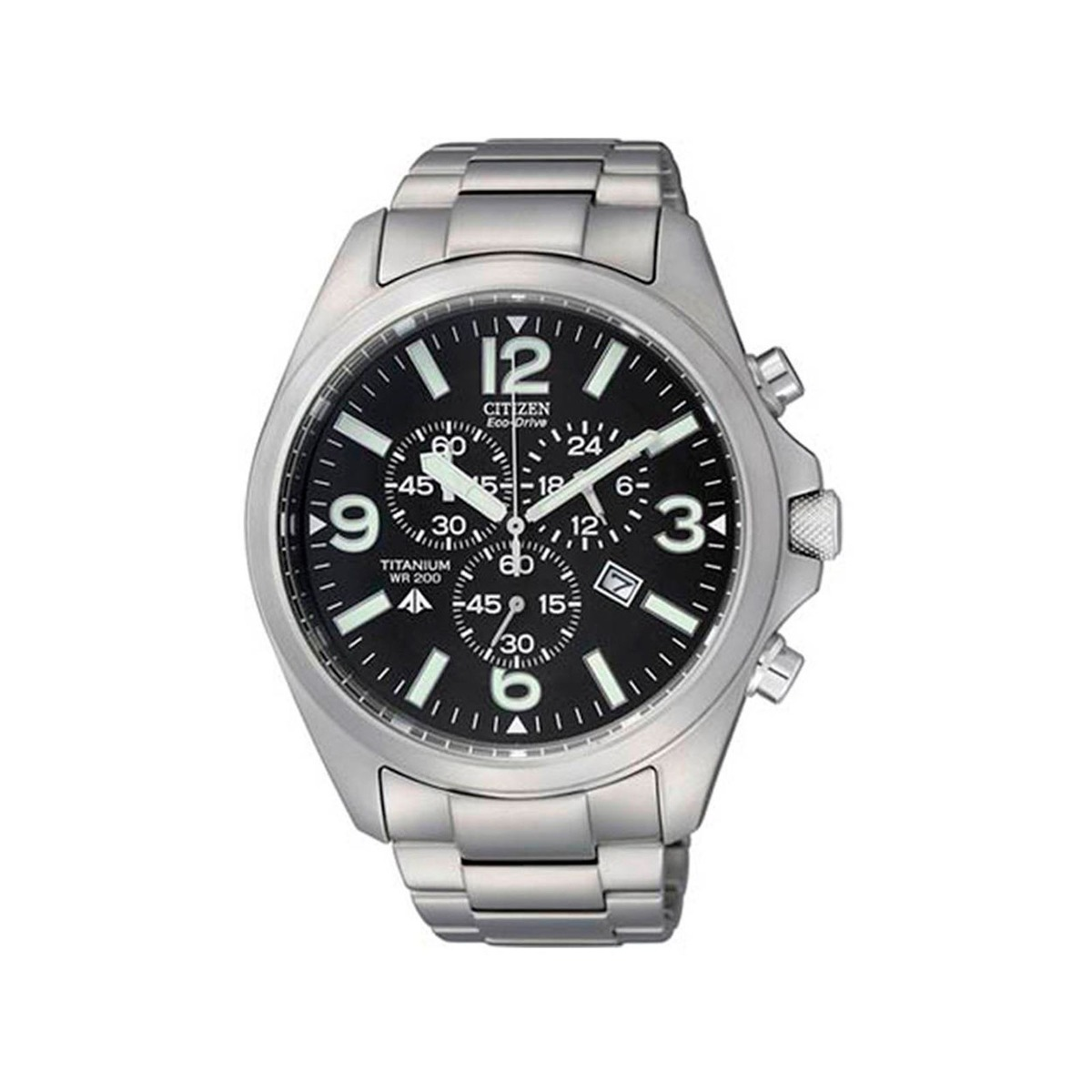 95e3b5837ef relógio citizen eco drive cronógrafo titanium. Carregando zoom.
