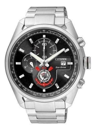 relógio citizen eco drive edição corinthians masculino prata