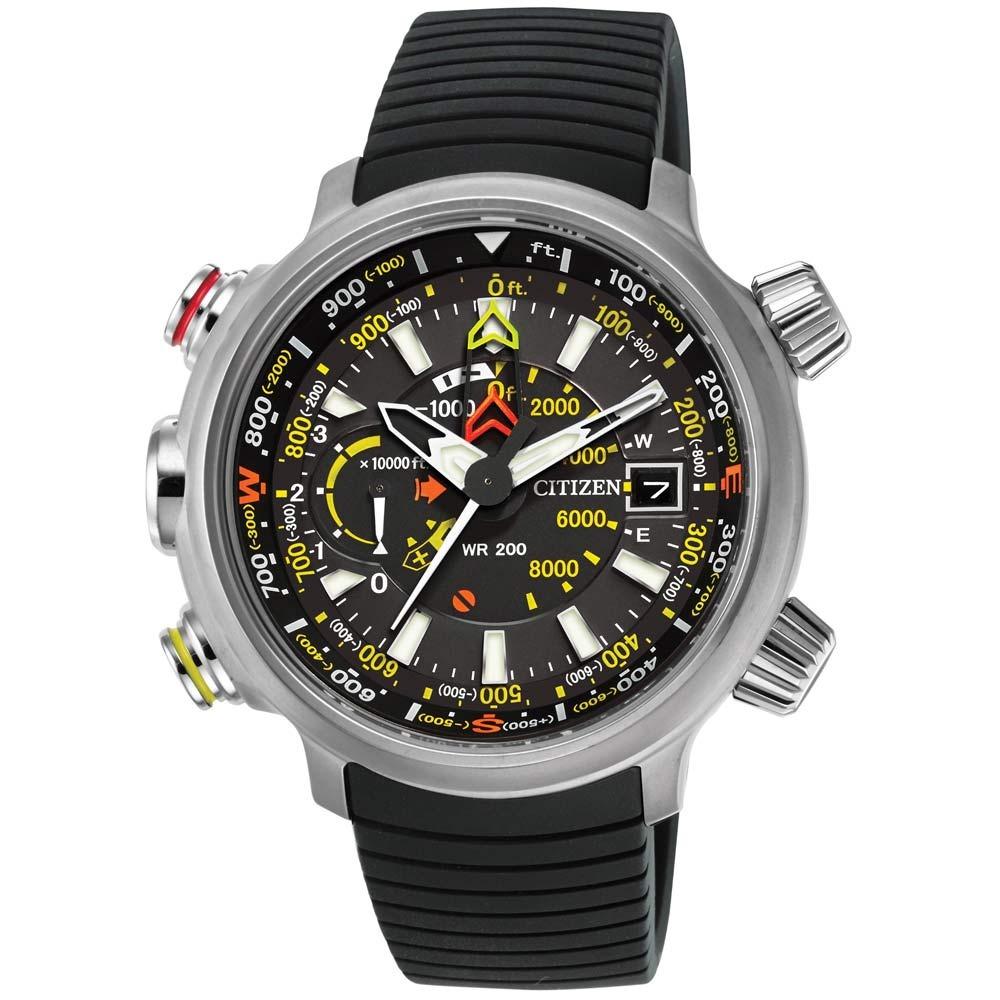 17b802ed592 Relógio Citizen Eco Drive Promaster Altichron Bn5030-06e - R  2.999 ...