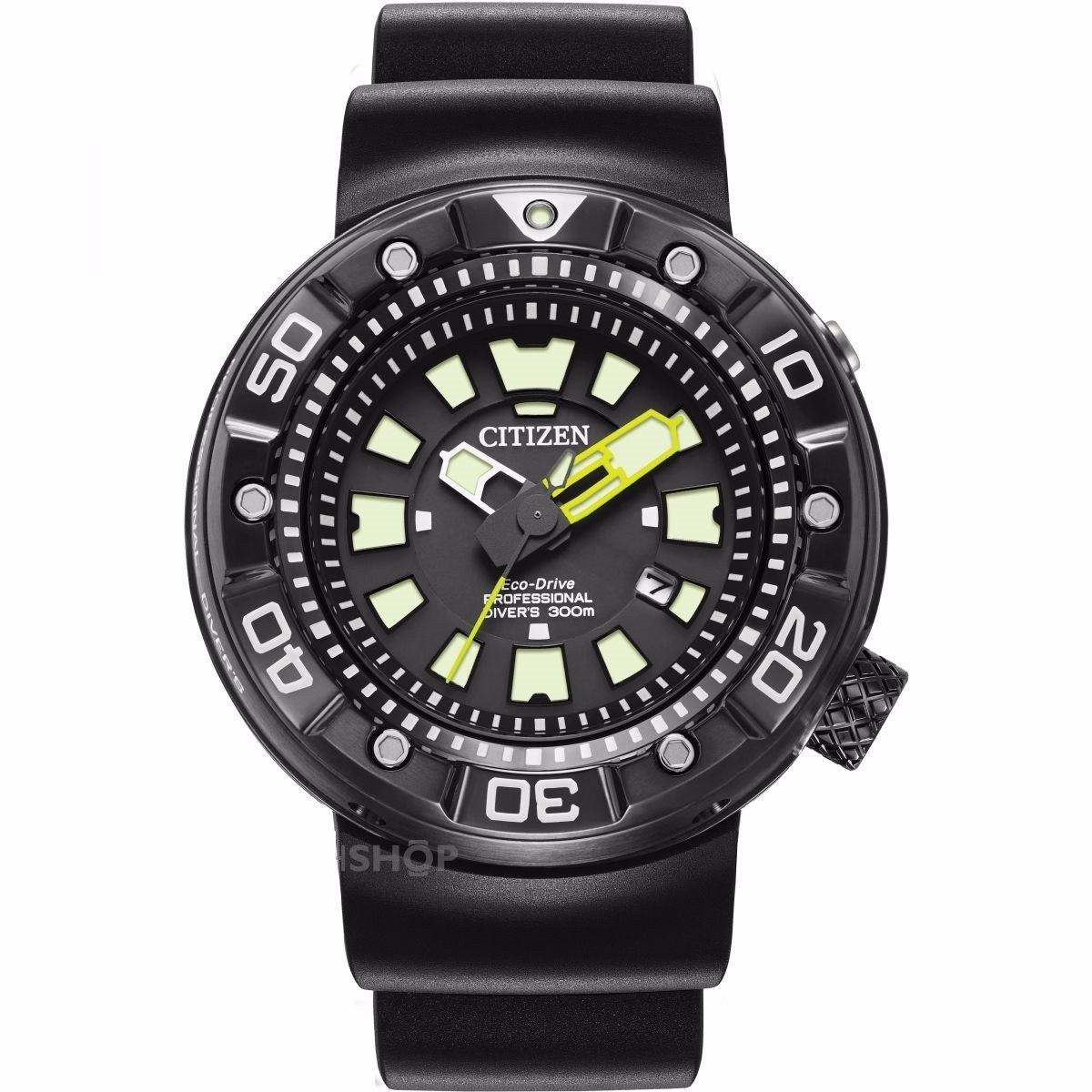 80d3c5f9897 relógio citizen eco-drive promaster diver bn0175-19e. Carregando zoom.