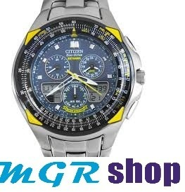 ccc654c20f4 Relógio Citizen Eco Drive Skyhawk Blue Angels Jr3090-58m - R  1.579 ...