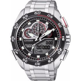 Relógio Citizen Eco Drive Super Cronógrafo Tz10119t / Jw0124