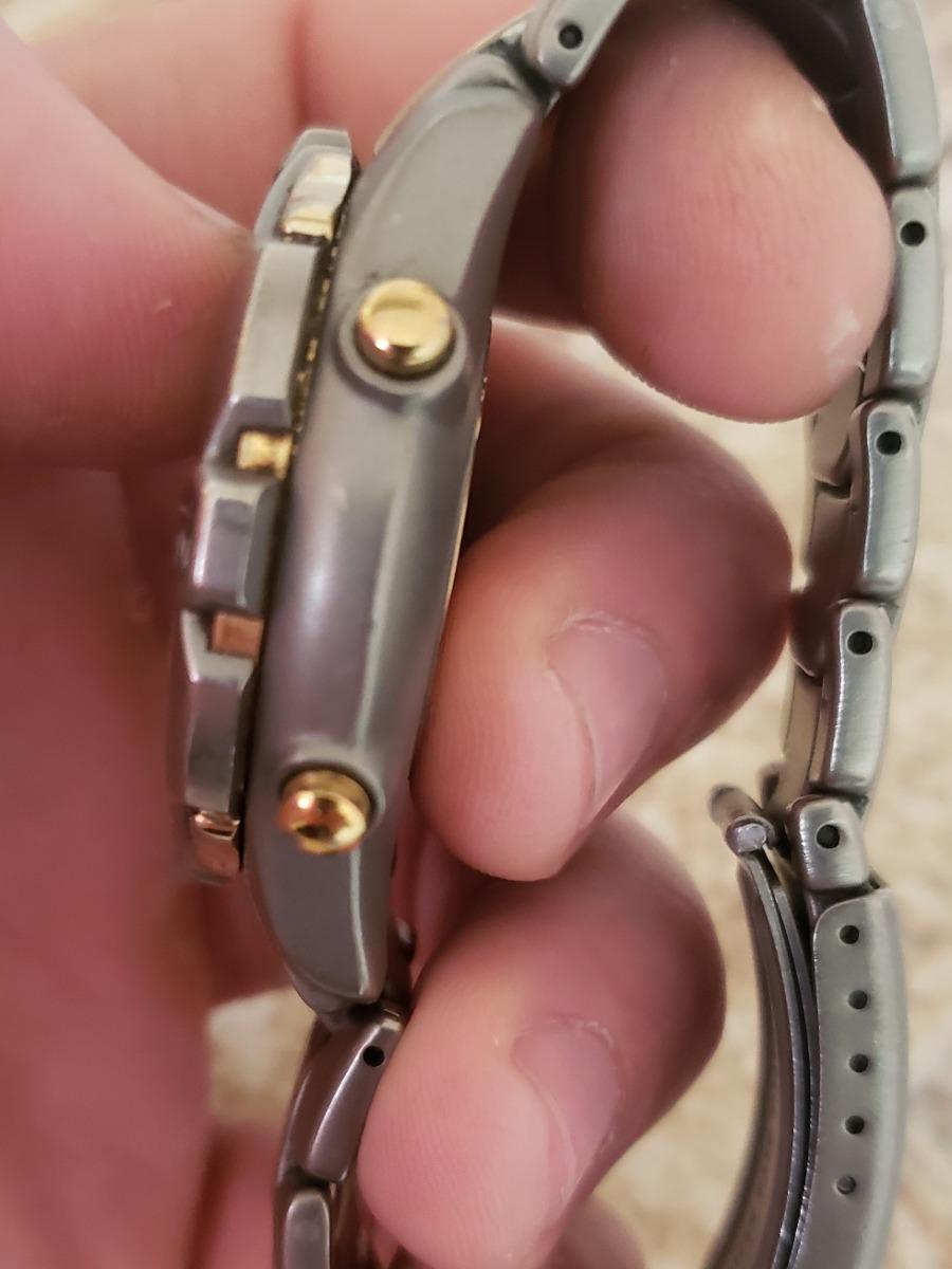 97f46bf123f relógio citizen eco drive titanium calibre 0855. Carregando zoom.