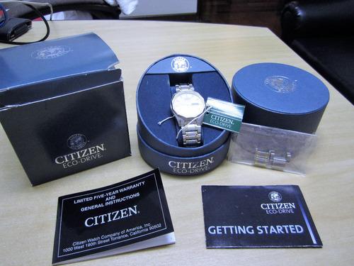 relógio citizen eco-drive usado