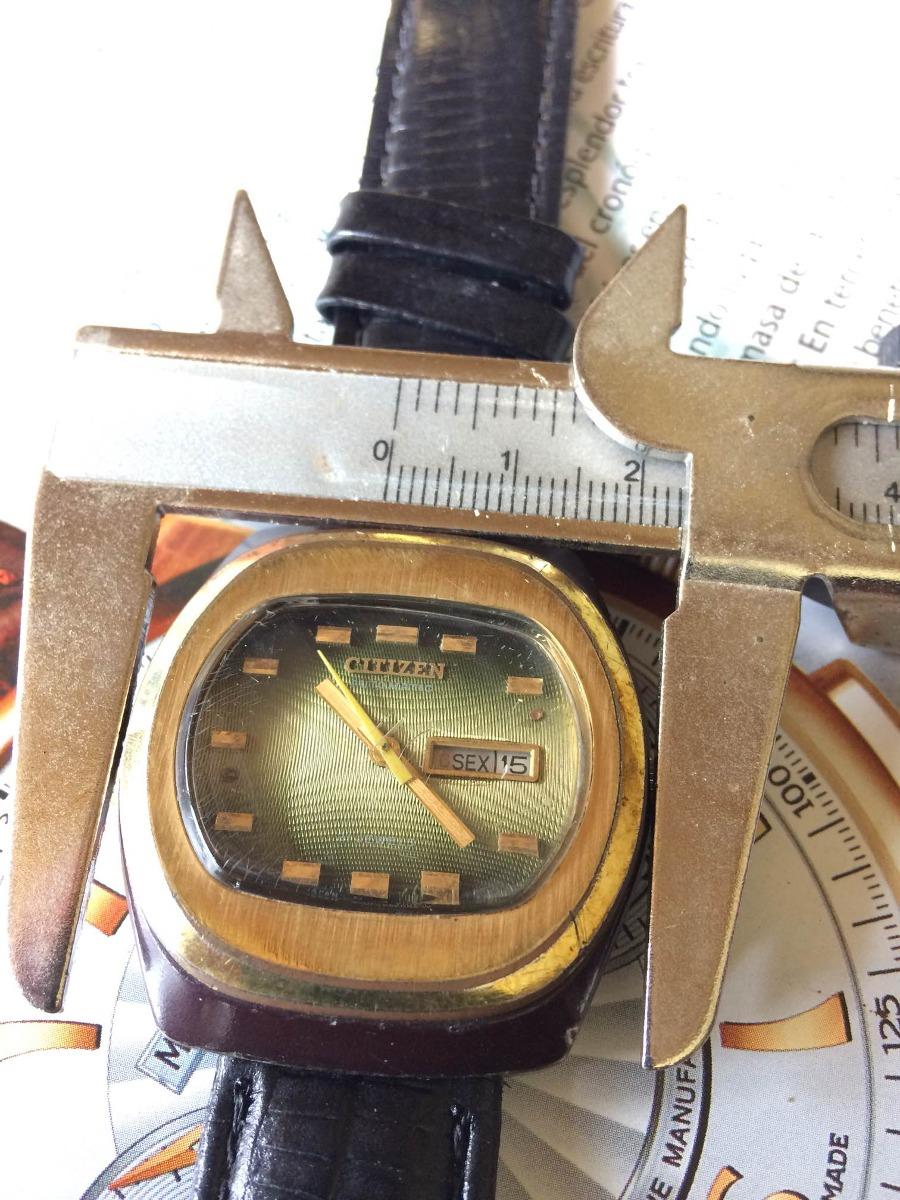 2d0bc2a930d relógio citizen exótico (leia descrição). Carregando zoom.