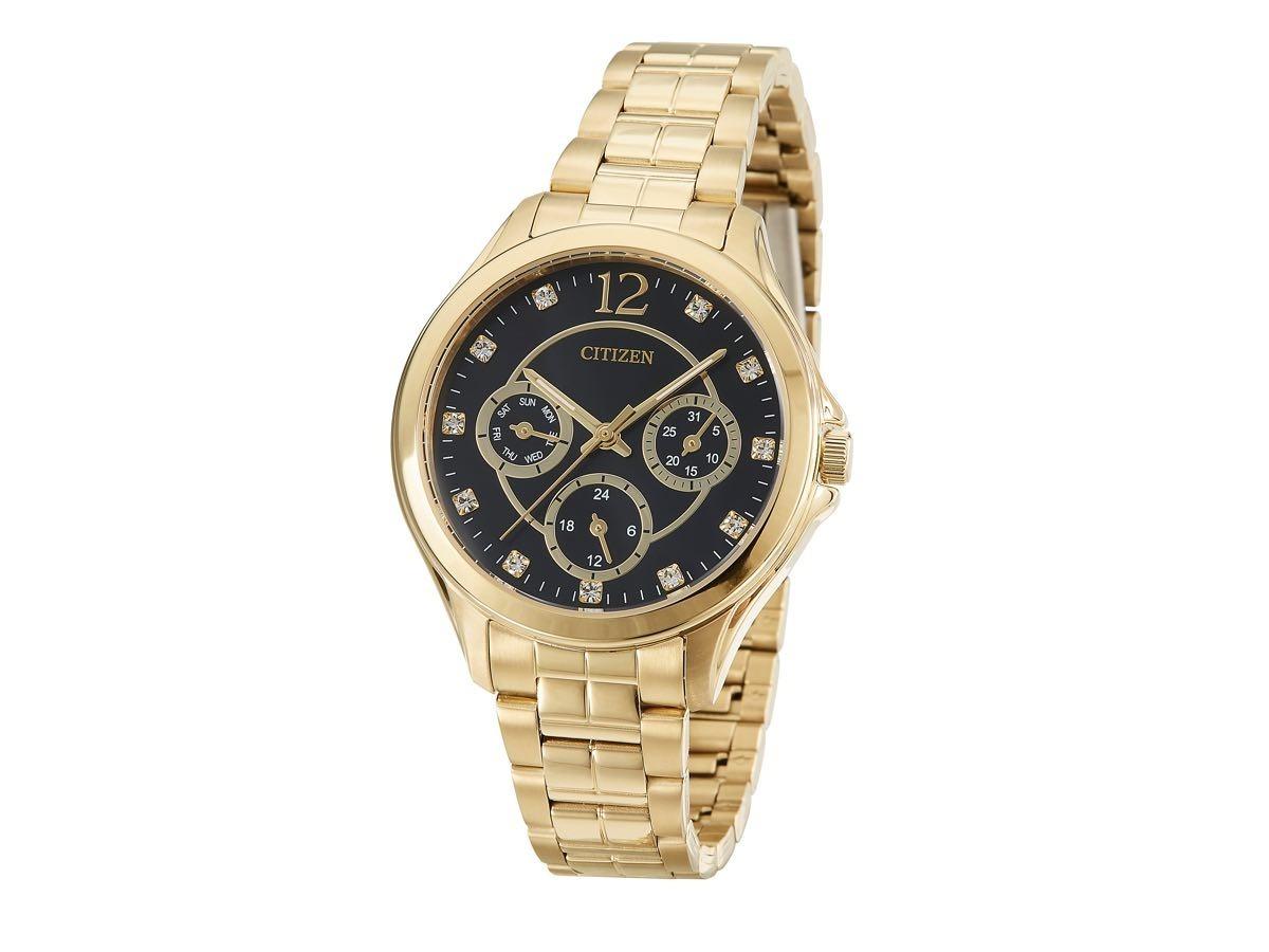 d00f1f6c1fd relógio citizen feminino dourado wr - ed8142-51e - tz28360u. Carregando  zoom.
