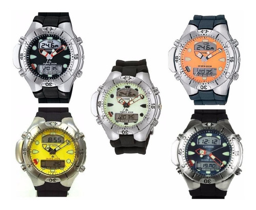 relógio citizen jp1060 promaster aqualand 2 original
