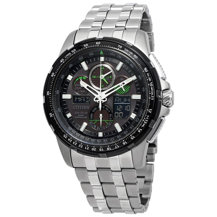 baae2a61ab7 relógio citizen jy8051-59e skyhawk a-t eco-drive jy8051. Carregando zoom.