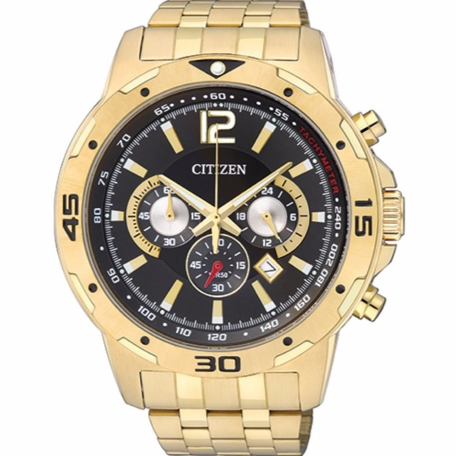 33857b6f5a5 Características. Marca Citizen  Modelo TZ30839U  Modelo alfanumérico Ponto   Gênero Masculino  Material da correia do relógio ...