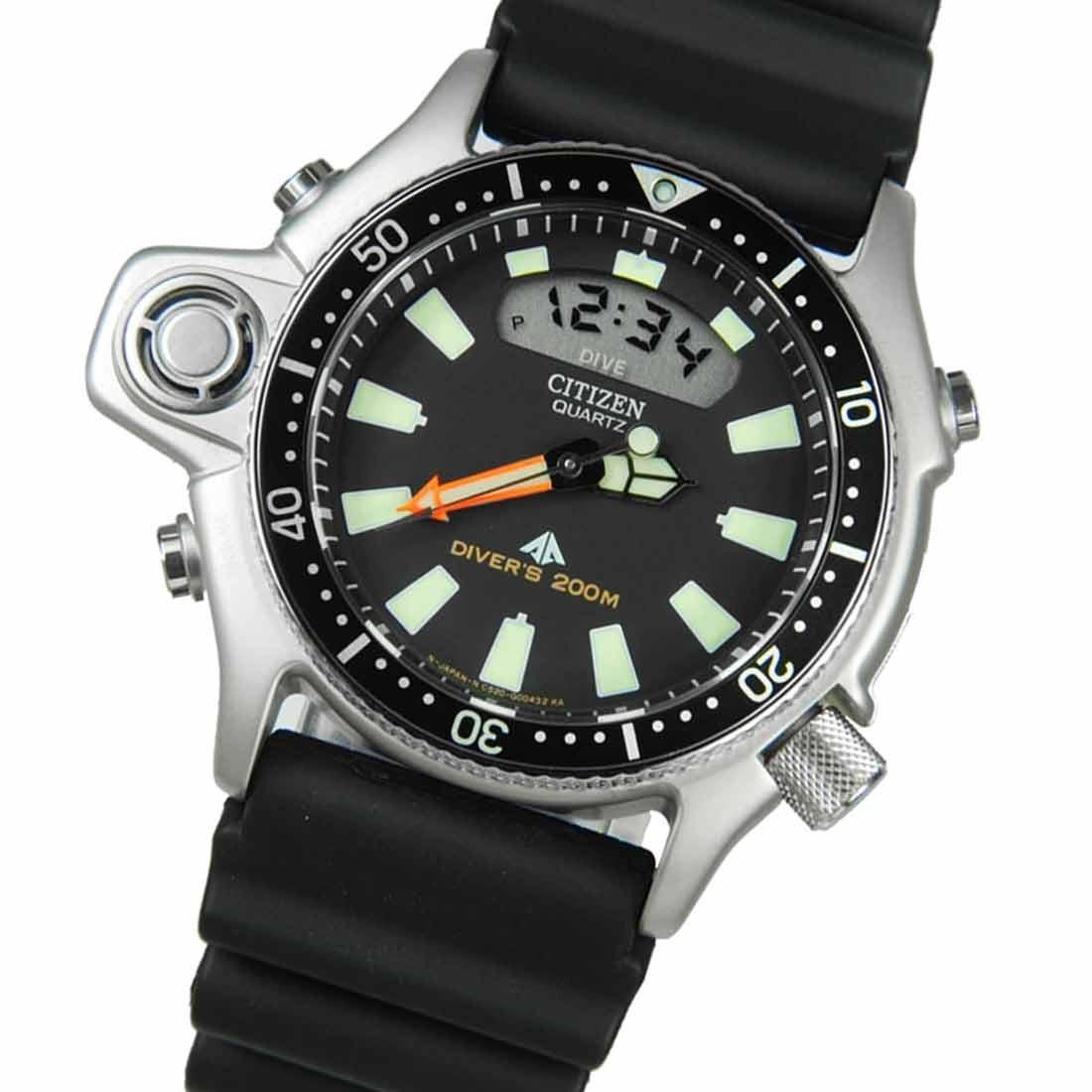 b46adb337ac relógio citizen masculino aqualand jp2000-08e de vitrine. Carregando zoom.