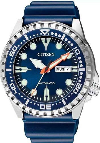 relógio citizen masculino automático marine sport tz31123f