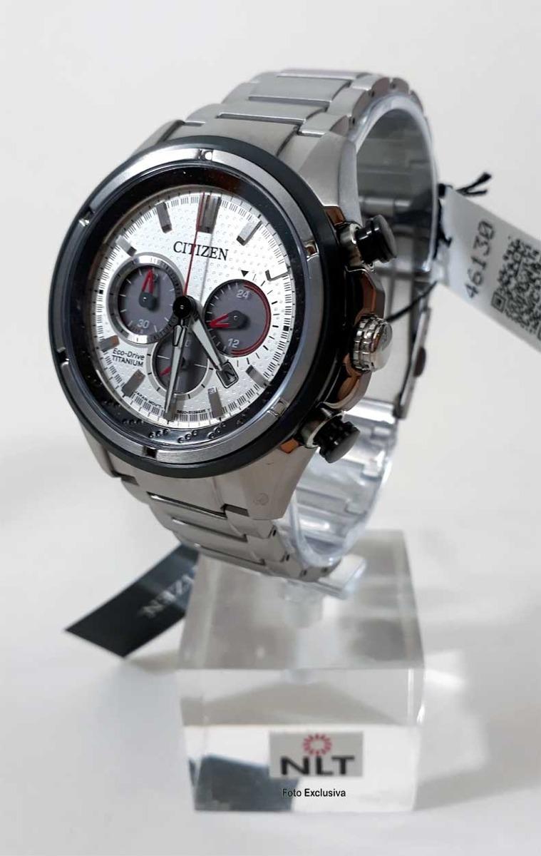 58bc66ee3aa relógio citizen masculino eco drive super titanium ca4240-58. Carregando  zoom.