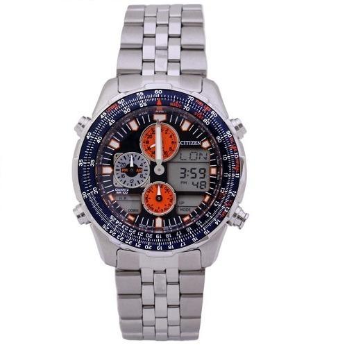 0a46201b423 Relógio Citizen Masculino Promaster Anadigi Tz10173f - R  1.899