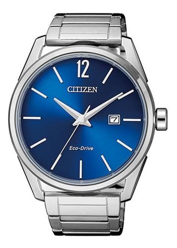 relógio citizen masculino ref: tz20680f eco-drive prateado