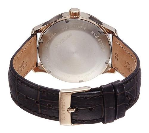 relógio citizen masculino ref: tz20804p automático dourado