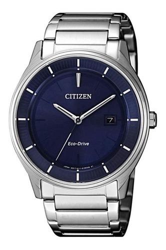 relógio citizen masculino ref: tz20975f eco-drive prateado