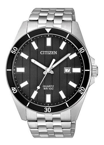 relógio citizen masculino tz31114t aço analogico oferta