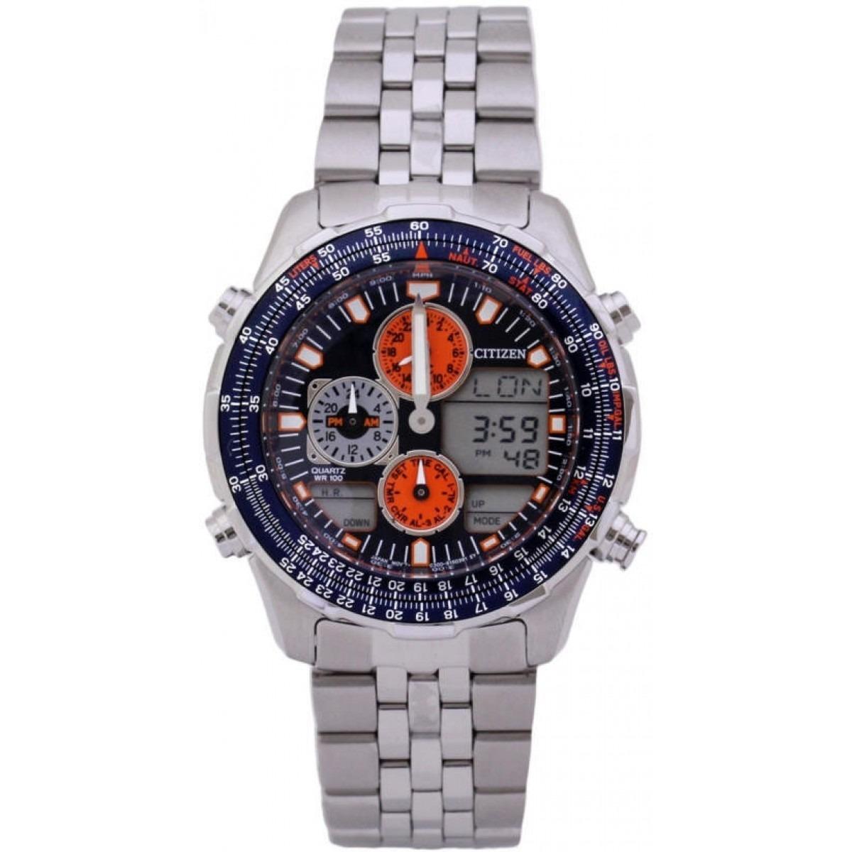 d632f3cd5c3 relógio citizen navihawk promaster ar jn0121-82l. Carregando zoom.
