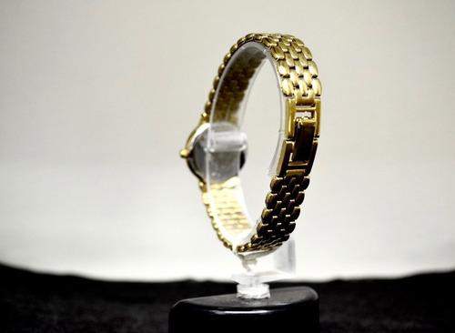 relogio citizen original feminino quartz dourado bracelete