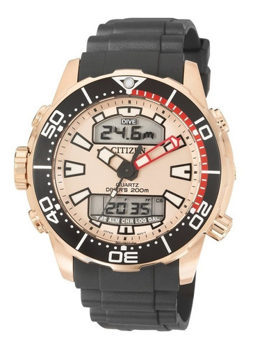 relógio citizen promaster aqualand tz10164x / jp1093-11p