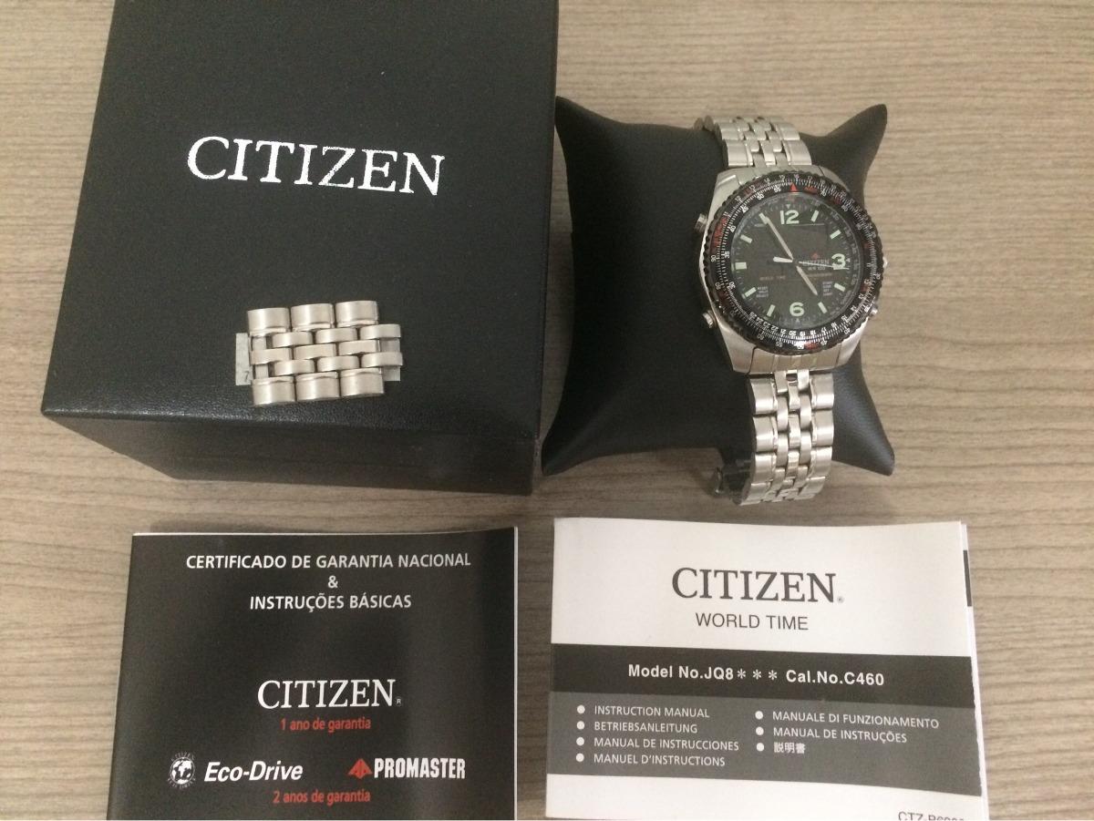11de825f25e relogio citizen promaster ar - tz10084d - frete grátis. Carregando zoom.