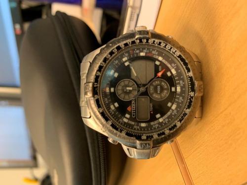 relógio citizen promaster combo temp js1045-58e