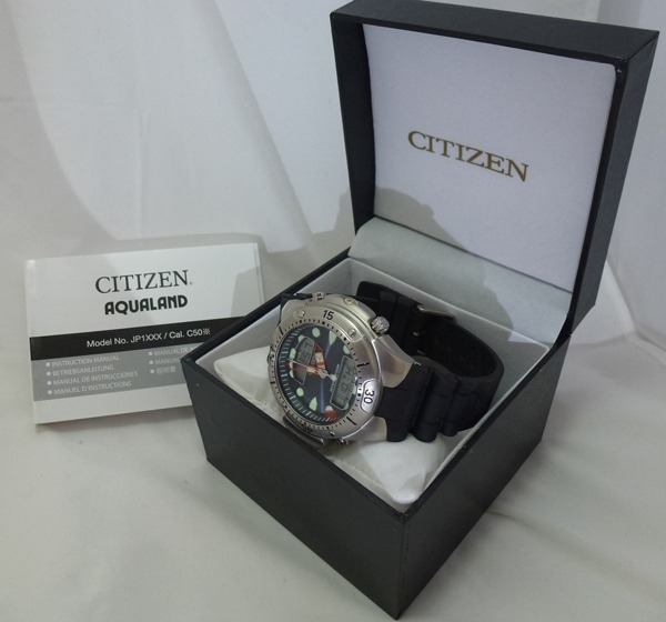 2ae28c84d61 Relogio Citizen Promaster Diver Aqualand 2 200m Crono - R  999