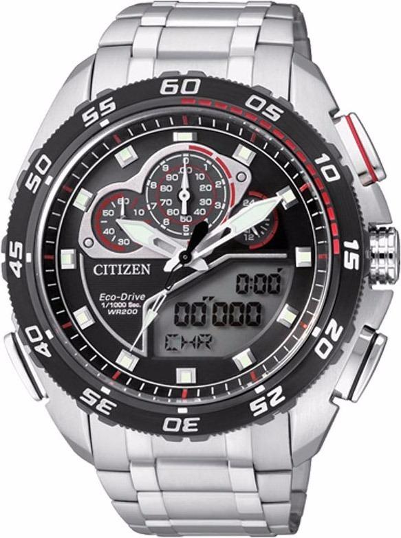 1260870ddd7 Relógio Citizen Promaster Eco-drive Jw0124-53e Tz10119t Novo - R ...