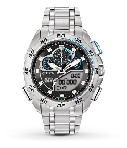 relógio citizen promaster eco-drive super sport jw0110-58e