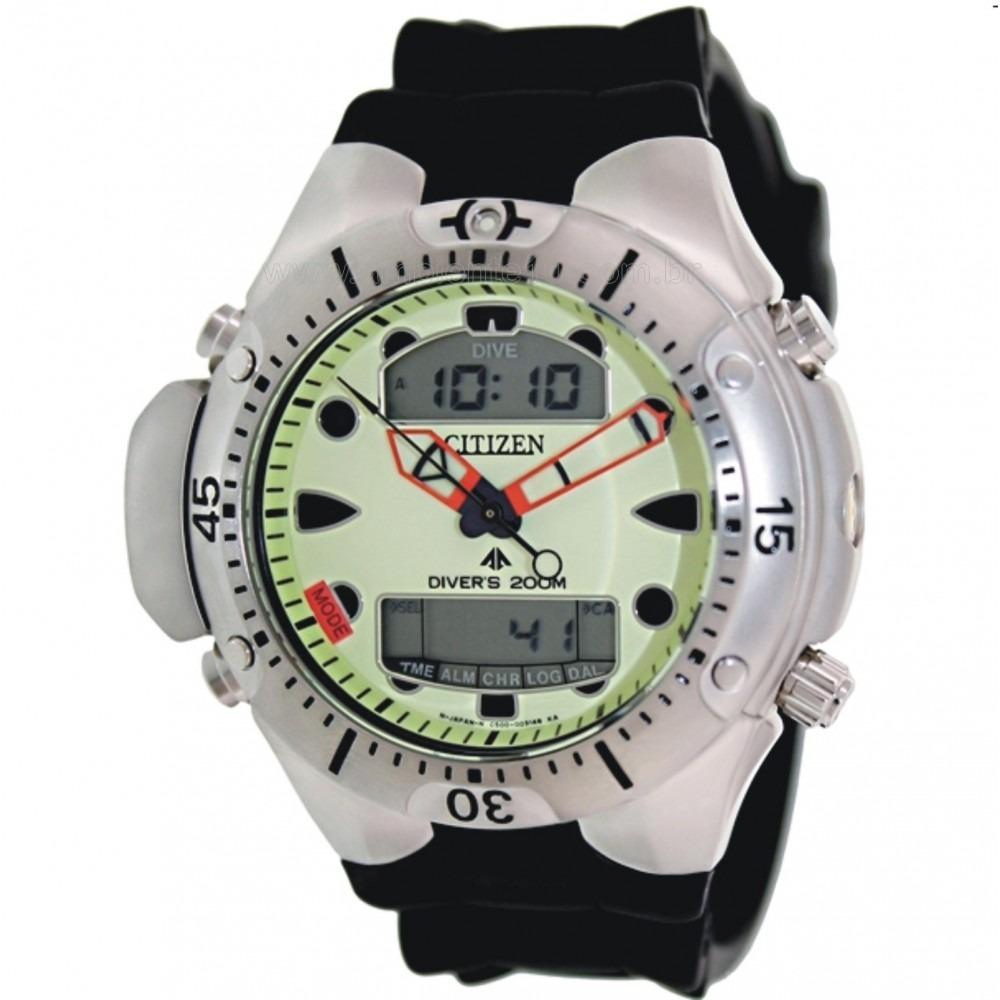255e246548e relógio citizen promaster jp-1060-01w aqualand original. Carregando zoom.