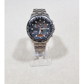 Relógio Citizen Promaster Skyhawk A-t Jy0010-50e Titanium