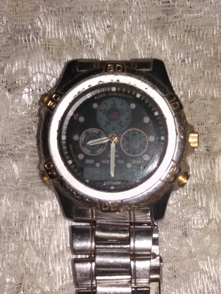 b07bfca3fea relógio citizen promaster wr100 aço inox. Carregando zoom.