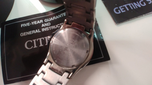 relogio citizen titanium eco drive pouco uso frete gratis
