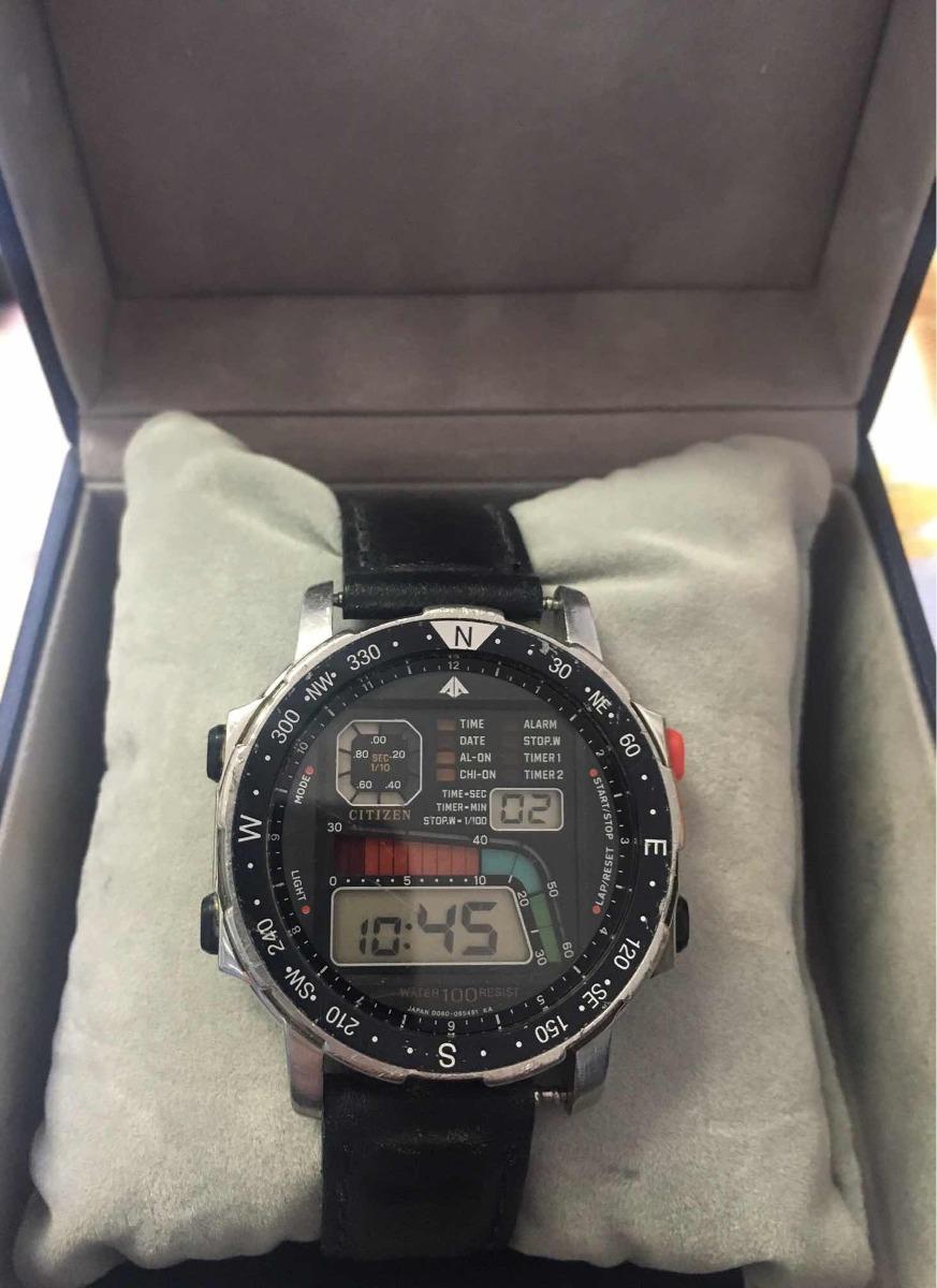 af54e45f1ac Relógio Citizen Windsurf D060 Todo Original!!!! - R  420