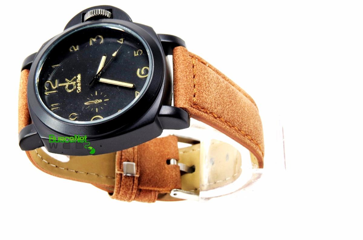 d4b0bbcacd5 relógio ck calvin klein pulseira couro top - melhor preço. Carregando zoom.