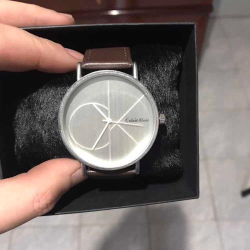relógio ck + cinto ax