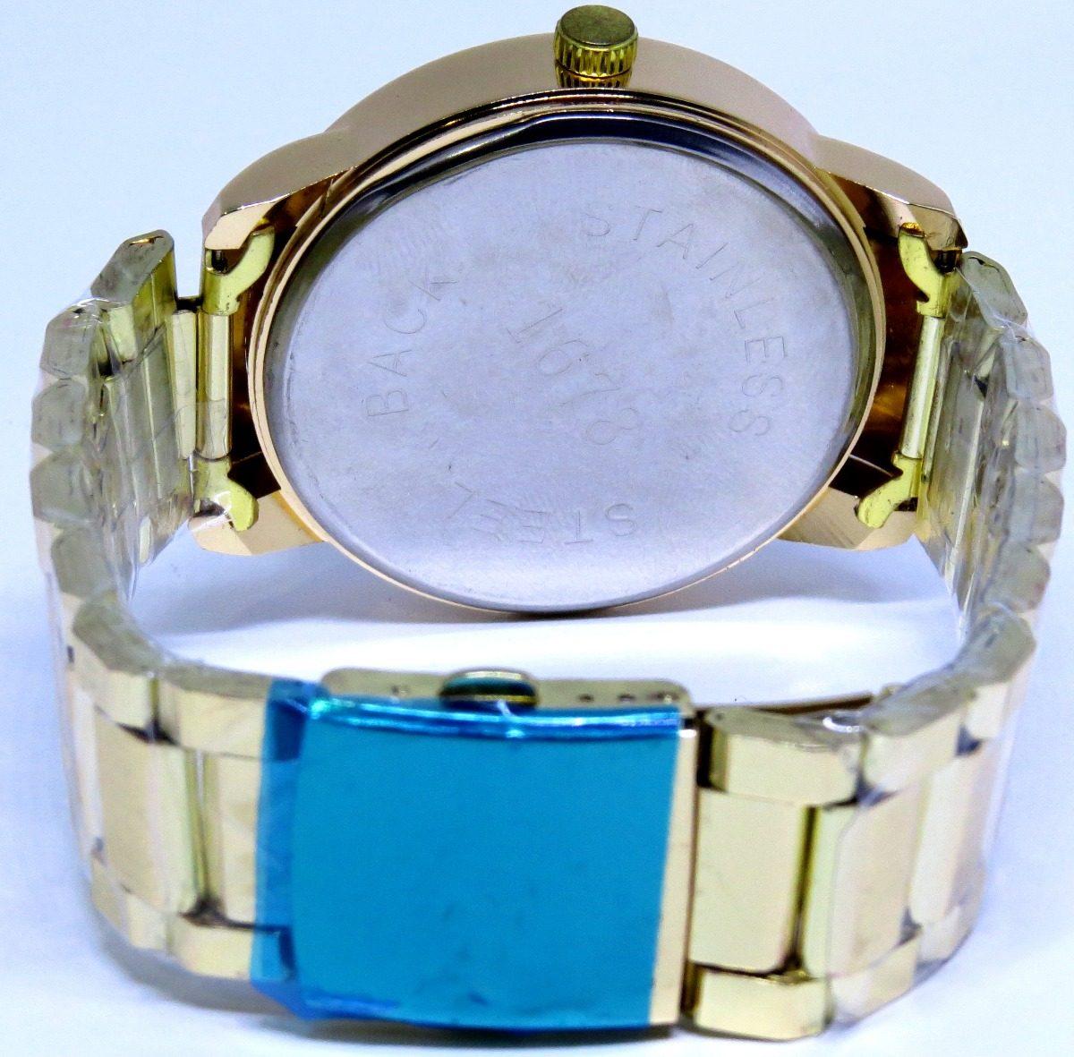 88c70c5a3da52 relógio ck masculino prata dourado na caixa lindo liquidação. Carregando  zoom.