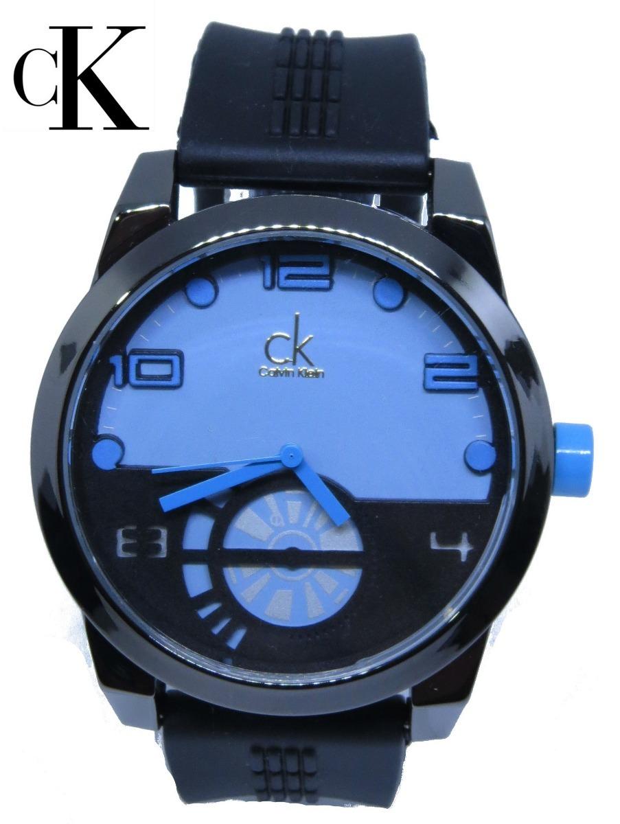 70b28d8b7f3 relógio ck na caixa barato preto azul masculino lançamento. Carregando zoom.