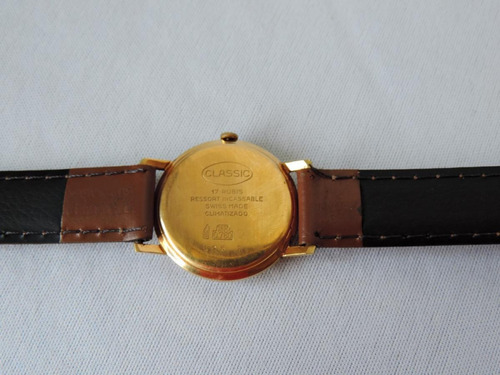 relógio classic ouro 18k